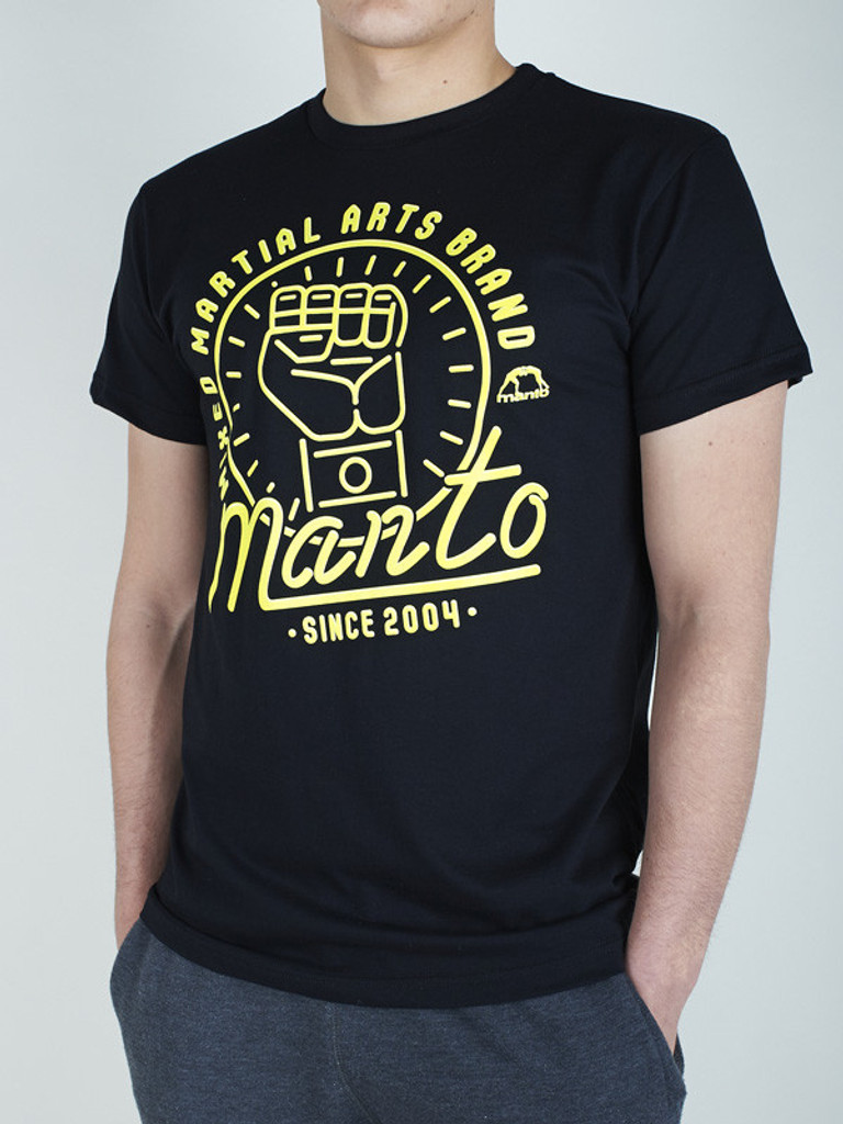 "MANTO ""NEON"" T-SHIRT Black"