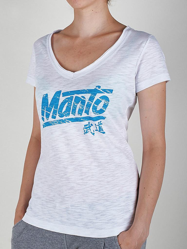 "MANTO ""AKIKO"" T-SHIRT White for Women"