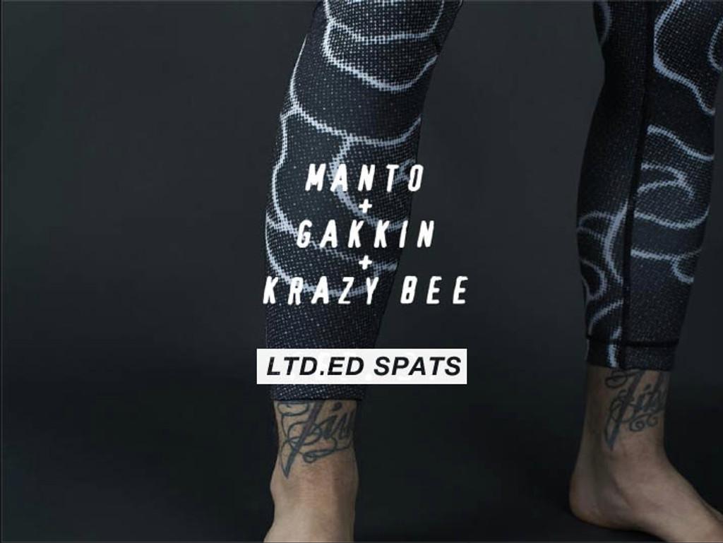 "MANTO ""GAKKIN"" SPATS Black"