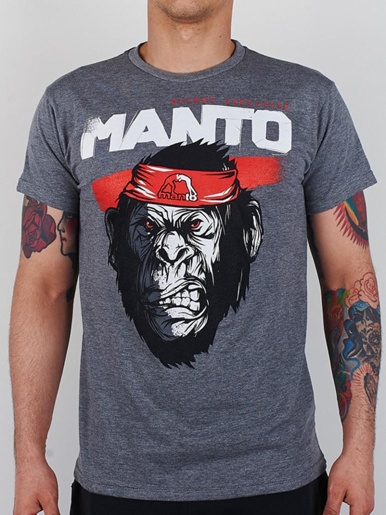 "MANTO ""JUNGLE"" T-SHIRT Grey"
