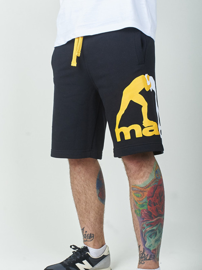 "MANTO ""CLINCH"" COTTON SHORTS Black"