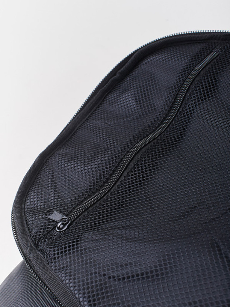 See through zipper pocket will hold all your documents safely when traveling etc