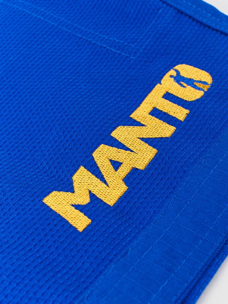 "MANTO ""VICTORY"" BJJ GI Blue"