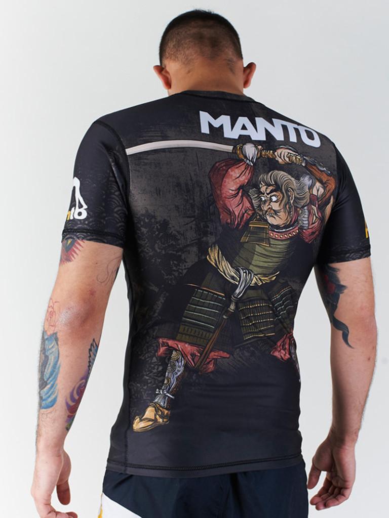 """MANTO """"HANNYA"""" RASHGUARD Black"""