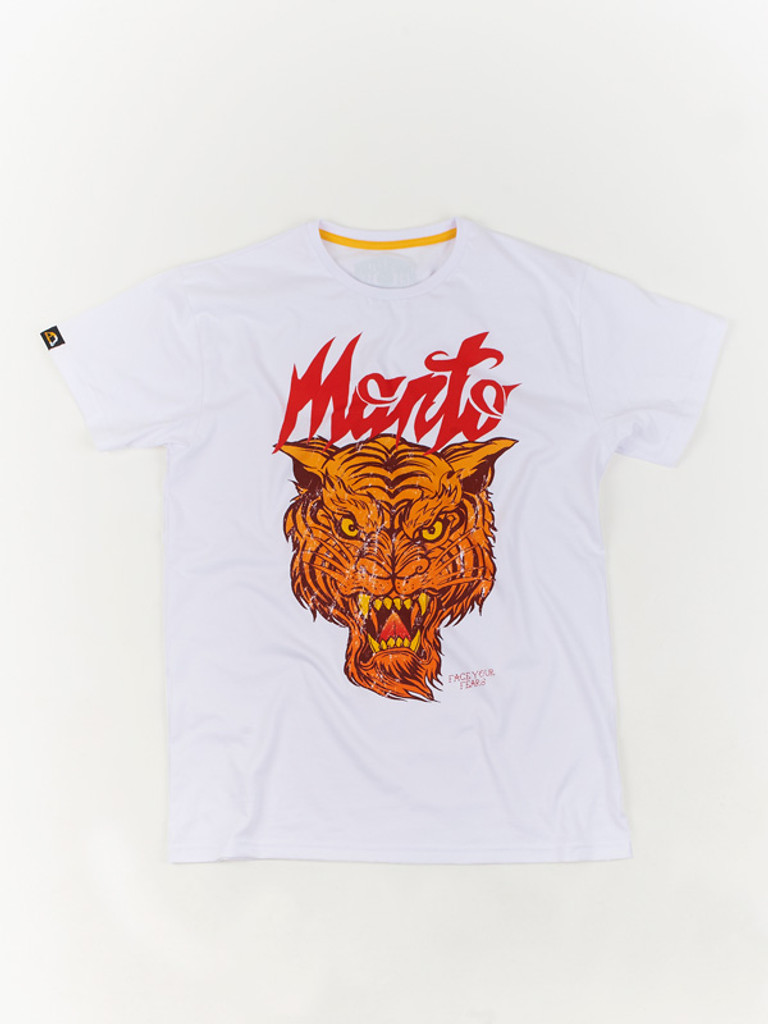 "MANTO ""TIGER"" T-SHIRT White"