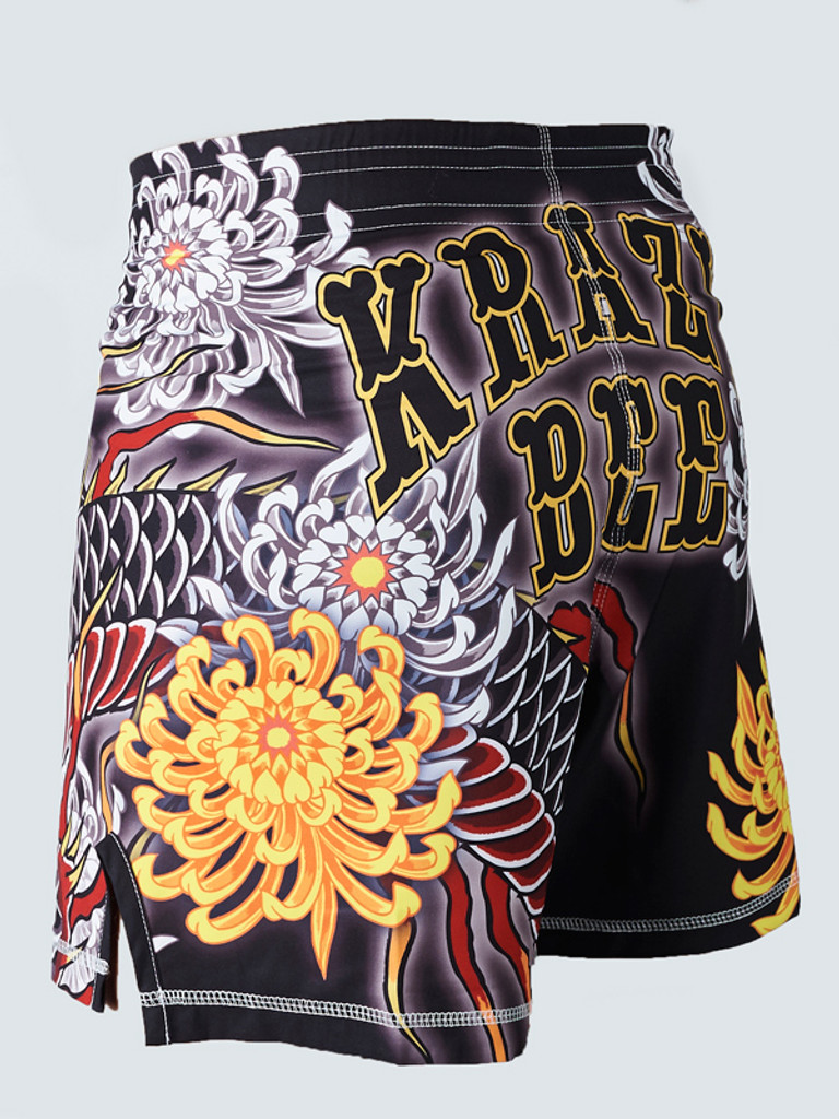 "MANTO ""DRAGON"" Pro Shorts Black LTD Edition"