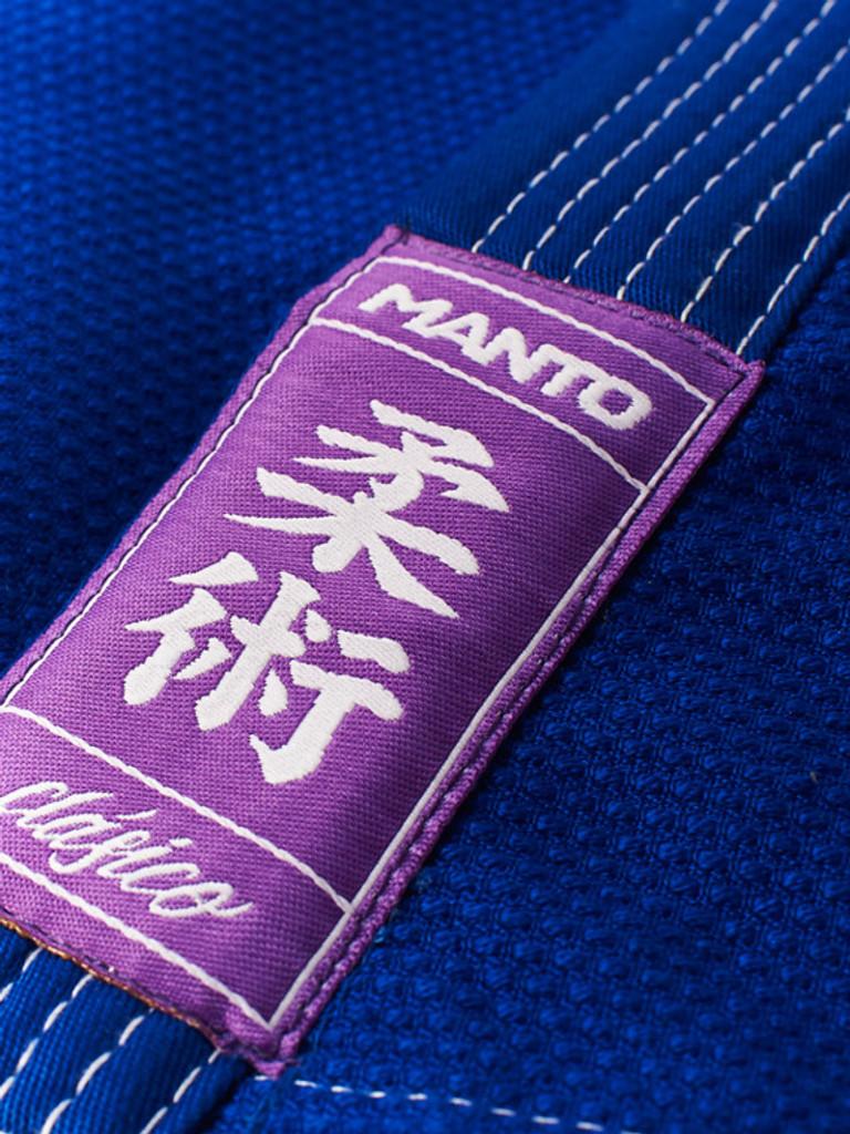 "MANTO ""CLASICO v1"" BJJ GI Blue"
