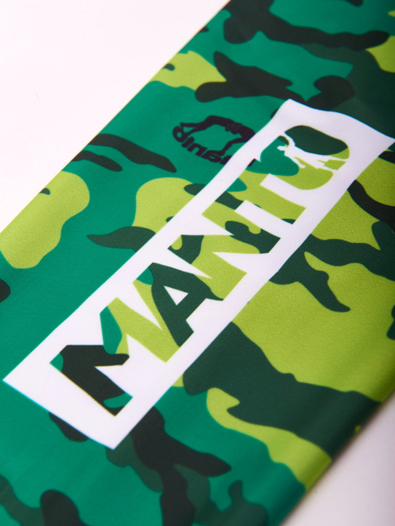 "MANTO ""CAMO"" SPATS Green"