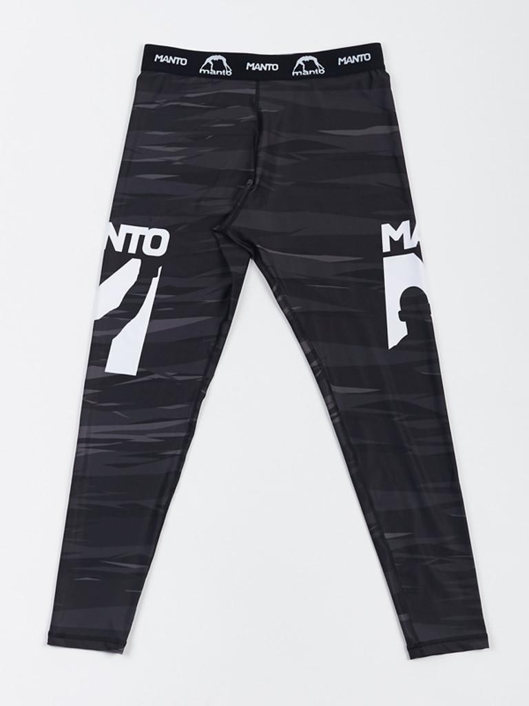 "MANTO ""FLAME"" SPATS Black"