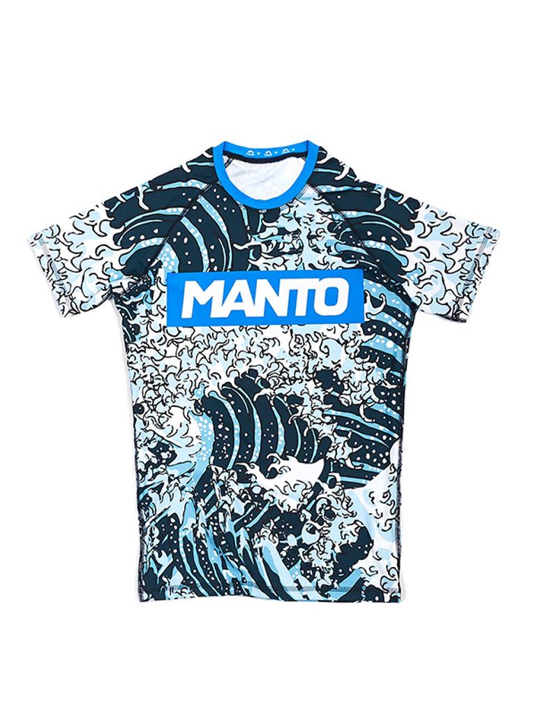 """MANTO """"WAVES"""" RASHGUARD v3 Short Slv"""