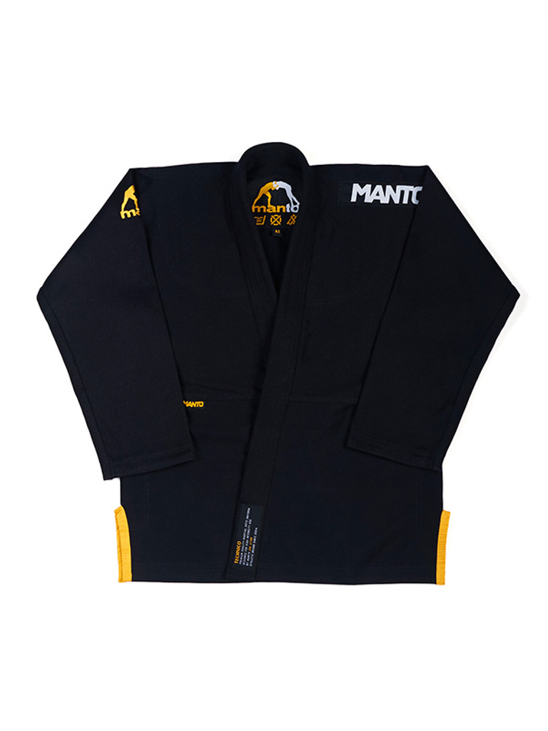 "MANTO ""TECHNICO"" BJJ GI Black"