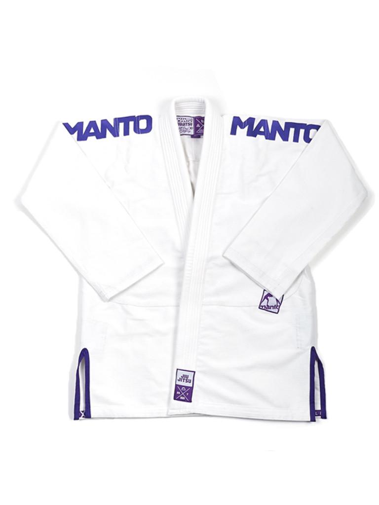 """MANTO """"X3"""" BJJ GI White"""