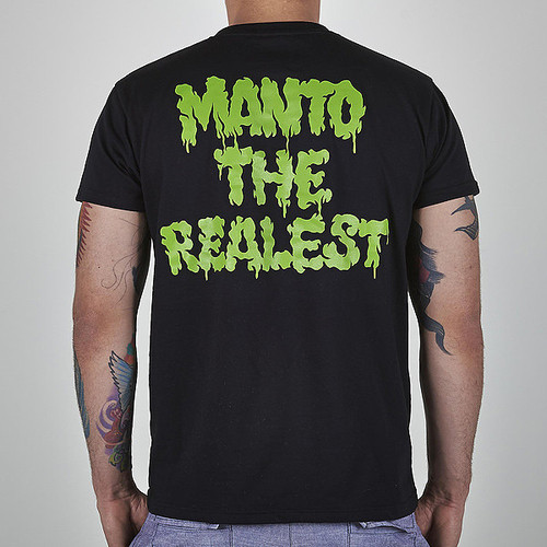 "MANTO ""ZOMBIE"" T-SHIRT  Black"