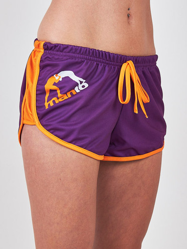 "MANTO ""ANGIE"" SHORTS Purple"
