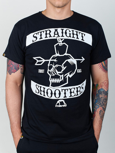 "MANTO ""SHOOTERS"" T-SHIRT Black"