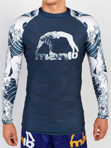 "MANTO ""WAVES"" RASHGUARD 2.0 Long Slv"