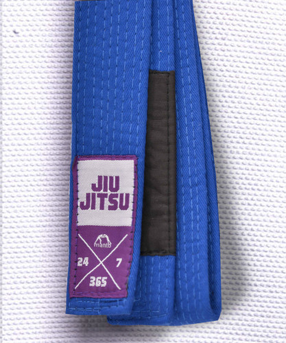 "MANTO ""EVERYDAY"" BJJ BELT - Blue"