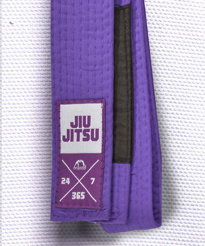 "MANTO ""EVERYDAY"" BJJ BELT - Purple"