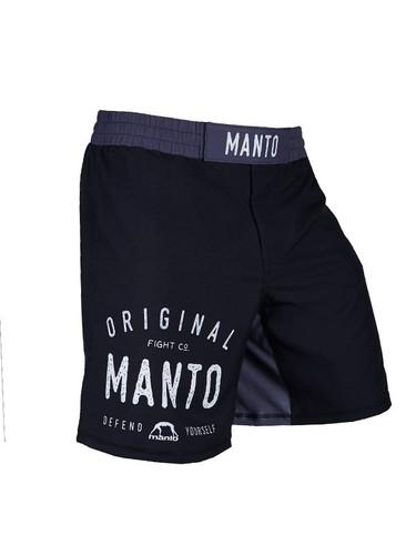 """MANTO """"LOGO"""" Pro Shorts v3 Black"""