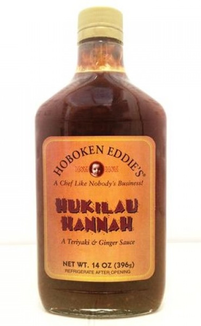 Hoboken Eddie's Hukilau Hannah BBQ Sauce - available at Pepper Explosion