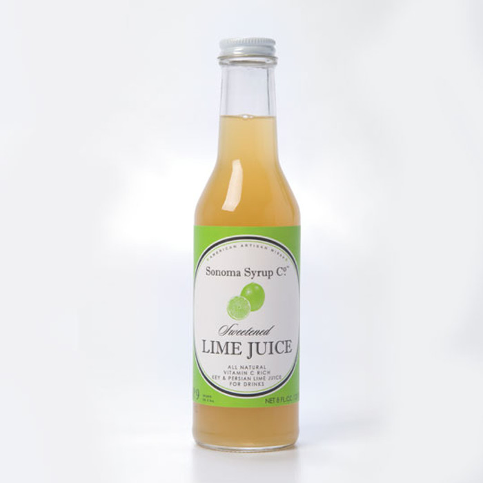 Sonoma Syrup Sweetened Lime Juice