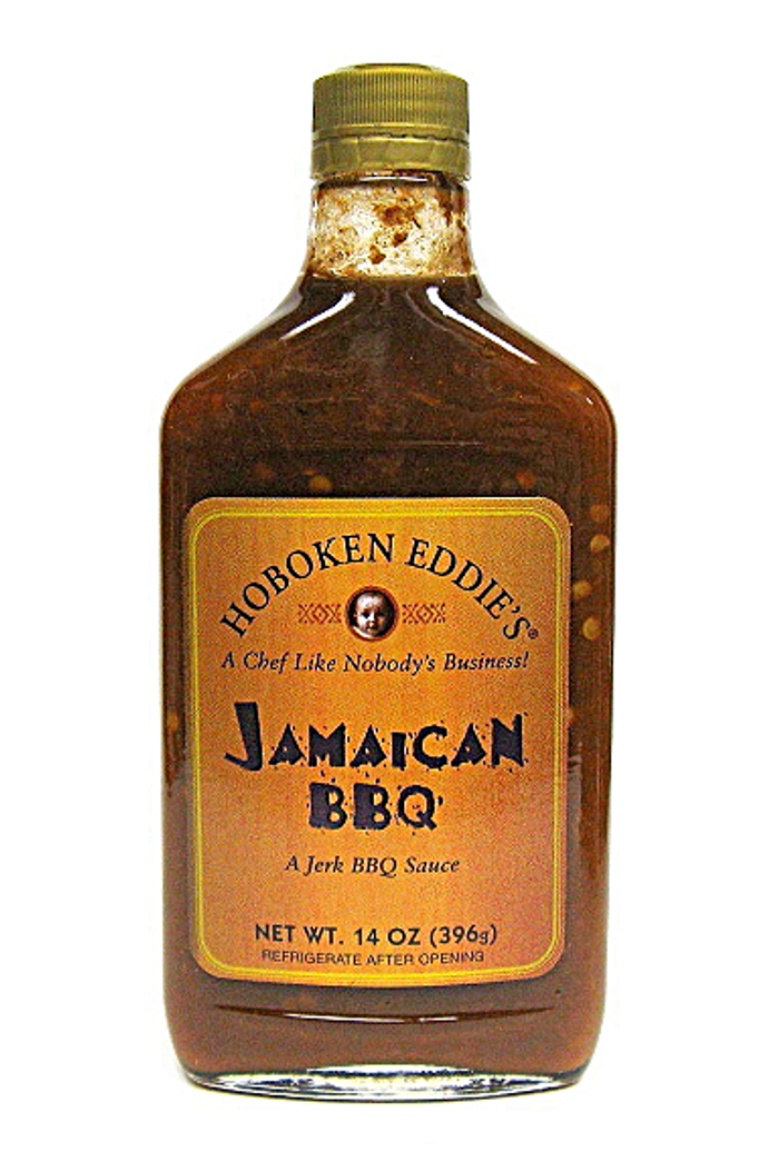 Hoboken Eddie's Jamaican BBQ Sauce available at PepperExplosion.com