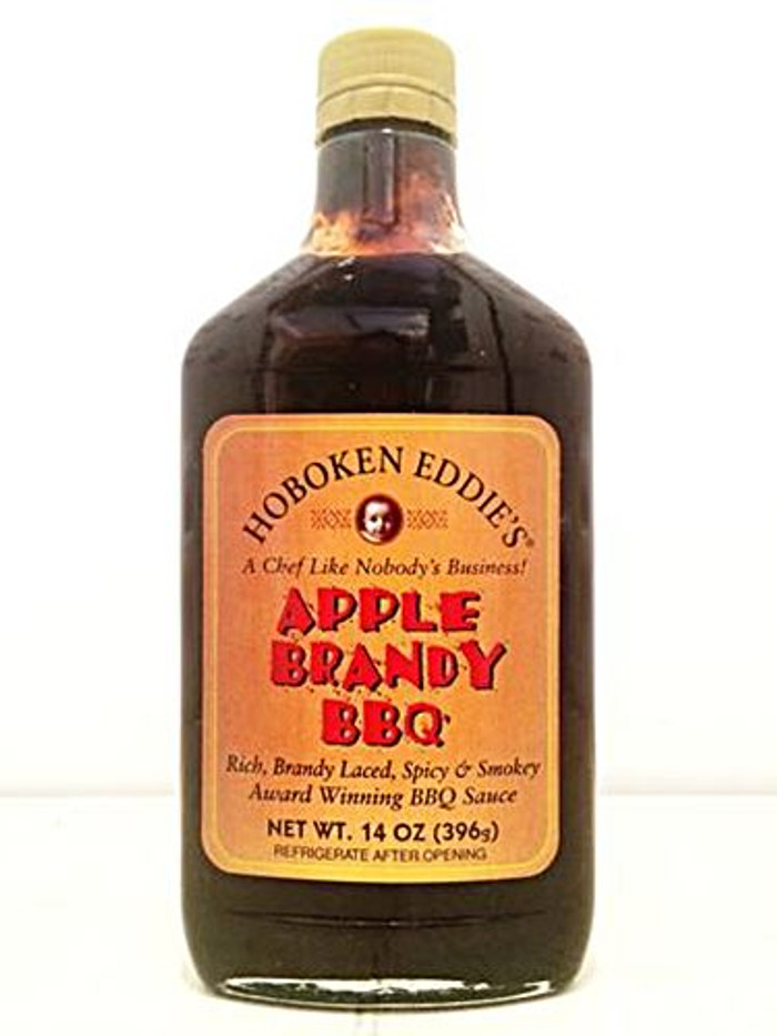 Hoboken Eddie's Apple Brandy BBQ Sauce available at PepperExplosion.com