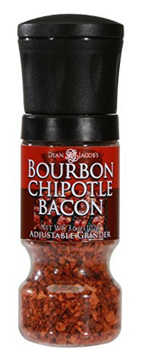 BOURBON CHIPOTLE BACON GRIPPER GRINDER - Pepper Explosion