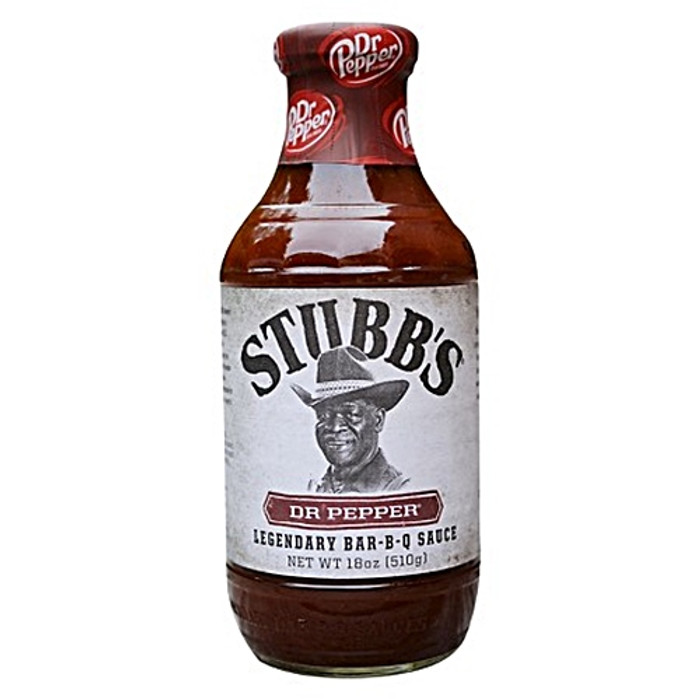 Stubb's Dr. Pepper Bar-B-Q Sauce - available online at Pepper Explosion