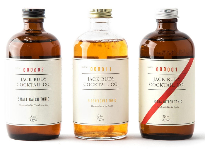 The Tonic Trio by Jack Rudy Cocktail Co