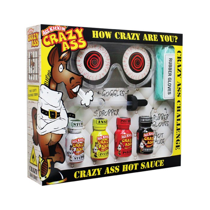 CRAZY ASS Challenge Gift Box