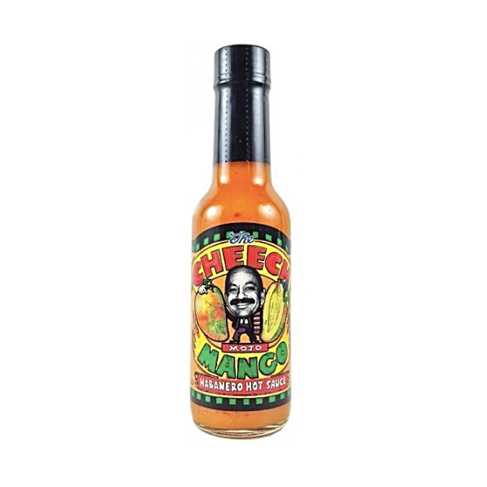 The Cheech Mojo Mango Habanero Hot Sauce - Get your bottle at Pepper Explosion