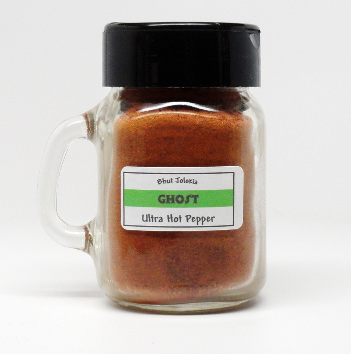 Bhut Jolokia (Ghost Pepper) Ground Chile Powder - PepperExplosion.com