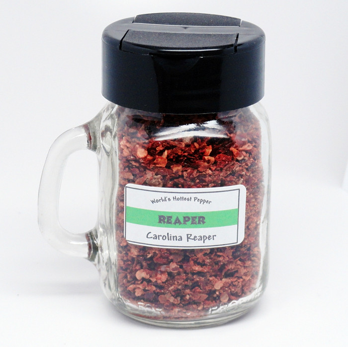 Reaper Pepper Flakes from PepperExplosion.com