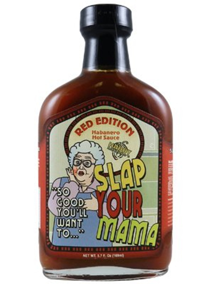 Slap Your Mama Hot Sauce Red Edition - PepperExplosion.com