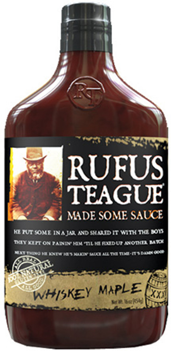 Rufus Teague Whiskey Maple BBQ Sauce - PepperExplosion.com