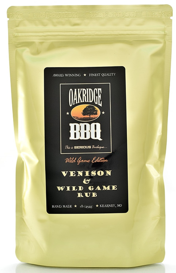 Venison & Wild Game Rub - Pepper Explosion BBQ Sauce and Rubs