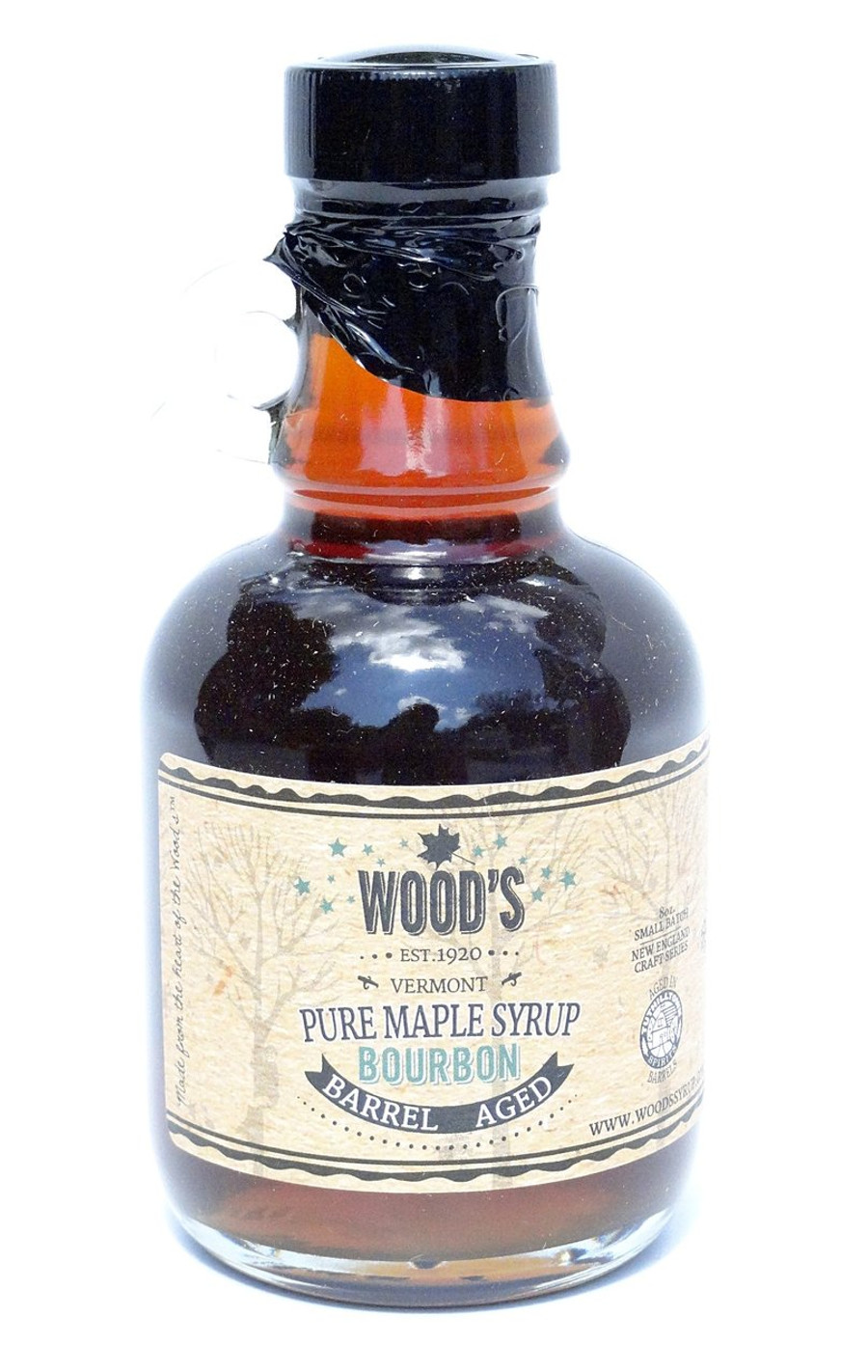 Wood's Bourbon Barrel Aged Pure Maple Syrup