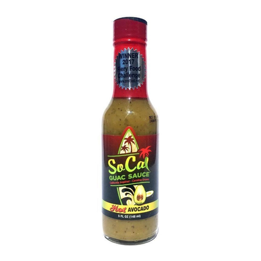 Hot Avocado SoCal Guac Sauce available at Pepper Explosion