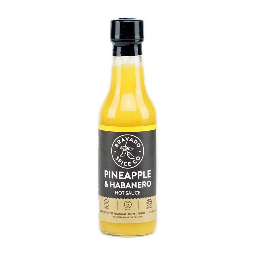 Bravado Spice Co. Pineapple & Habanero Hot Sauce - buy at Pepper Explosion
