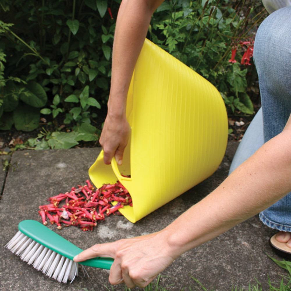 Medium Tubtrugs make cleaning up around the garden easy.