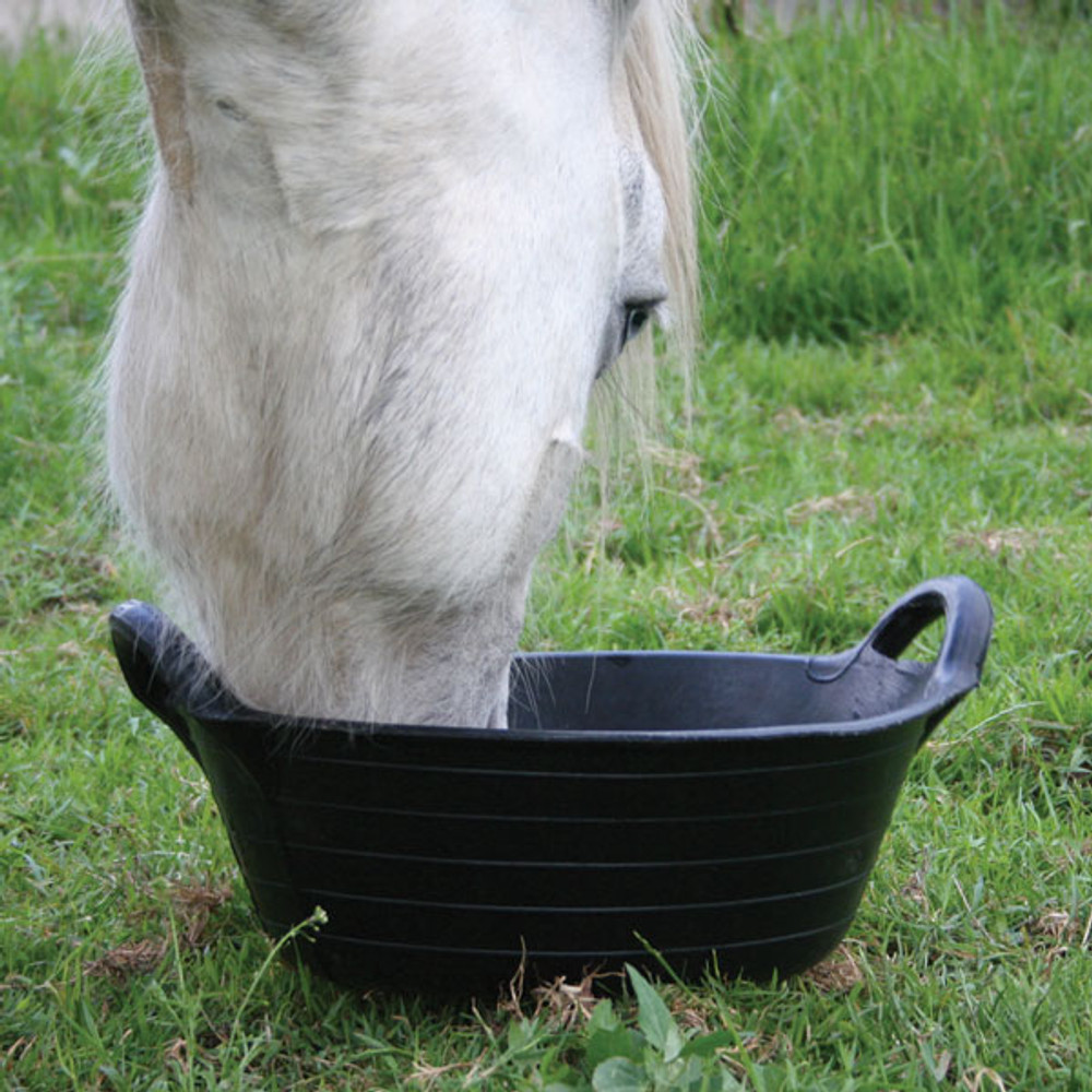 Tyre Rubber Range - Small Skip is great for horses, ponies, goats, sheep etc.