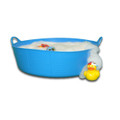 Large Shallow Tubtrugs are perfect as an portable baby bath.
