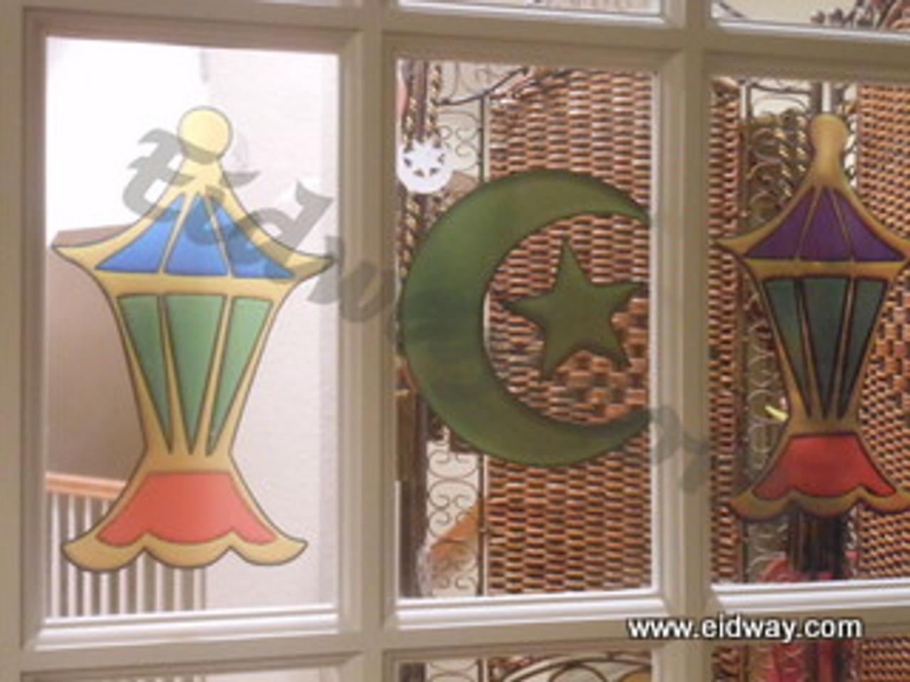Fanoos/ Lantern Window Cling