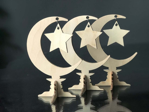 Moon Stand set of three
