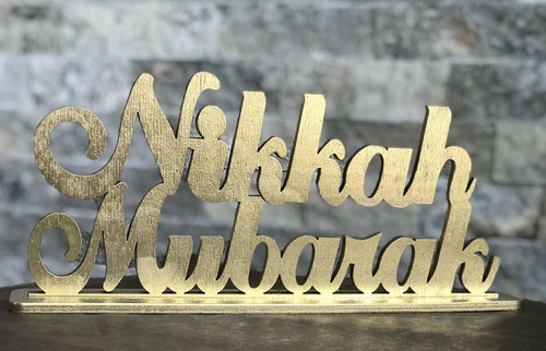 Nikkah Mubarak Stand