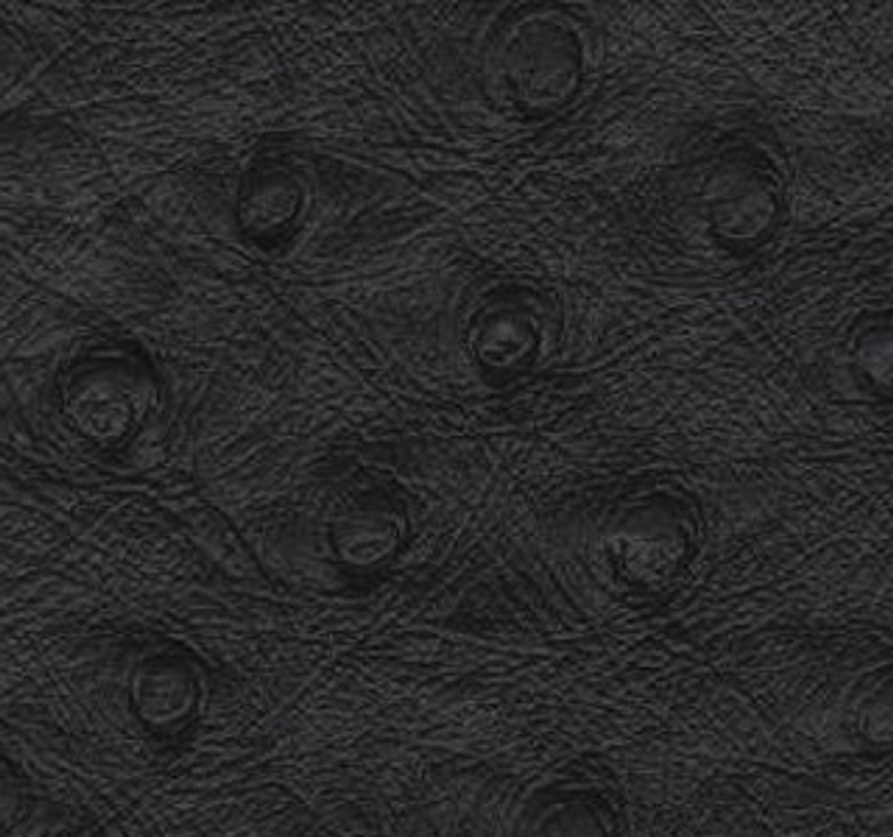 "JJ Ostrich Black Vinyl 54"""