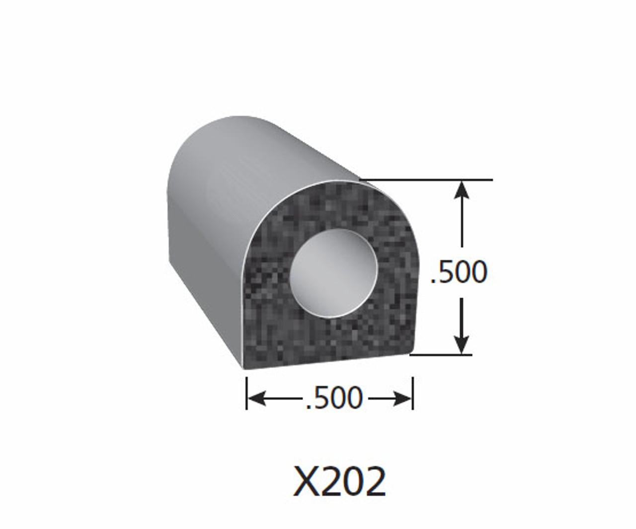 Rubber Seal X202-HT
