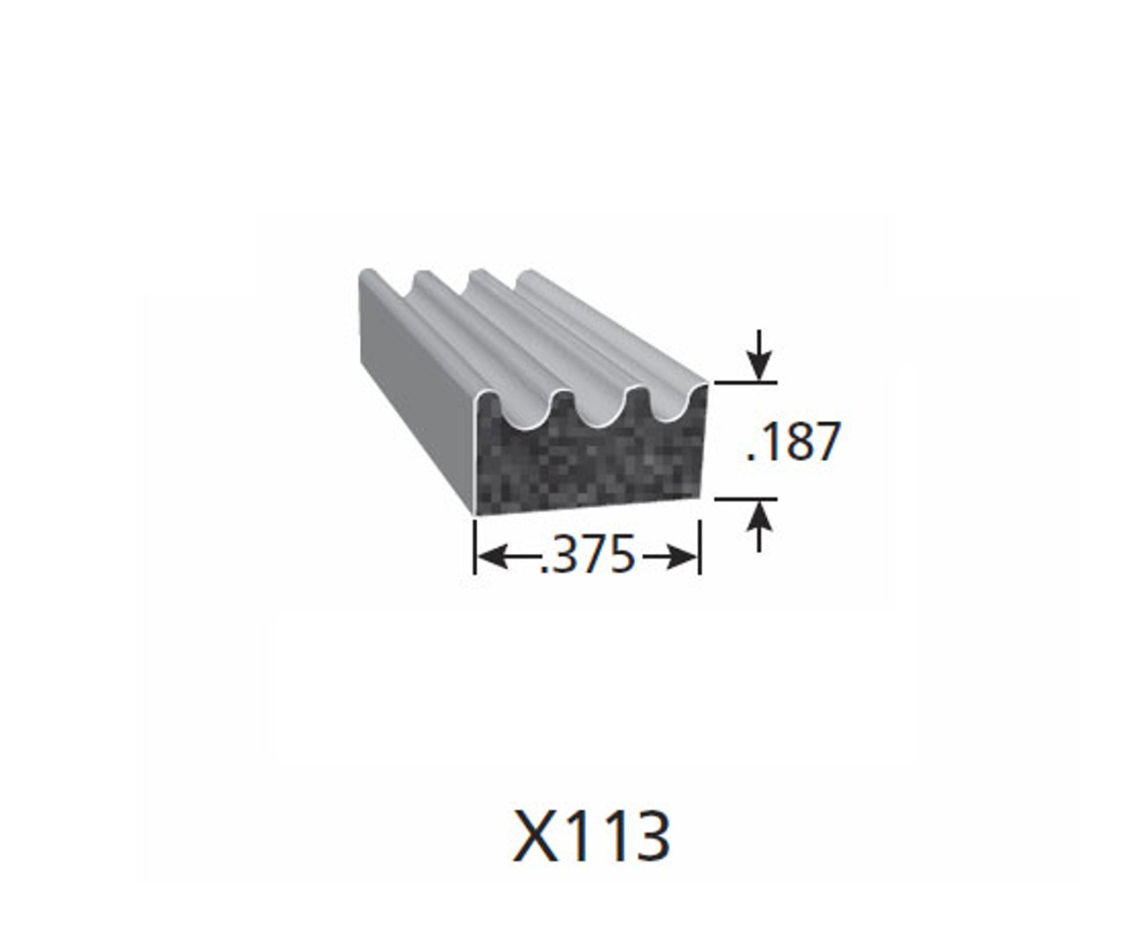 Rubber Seal X113-HT