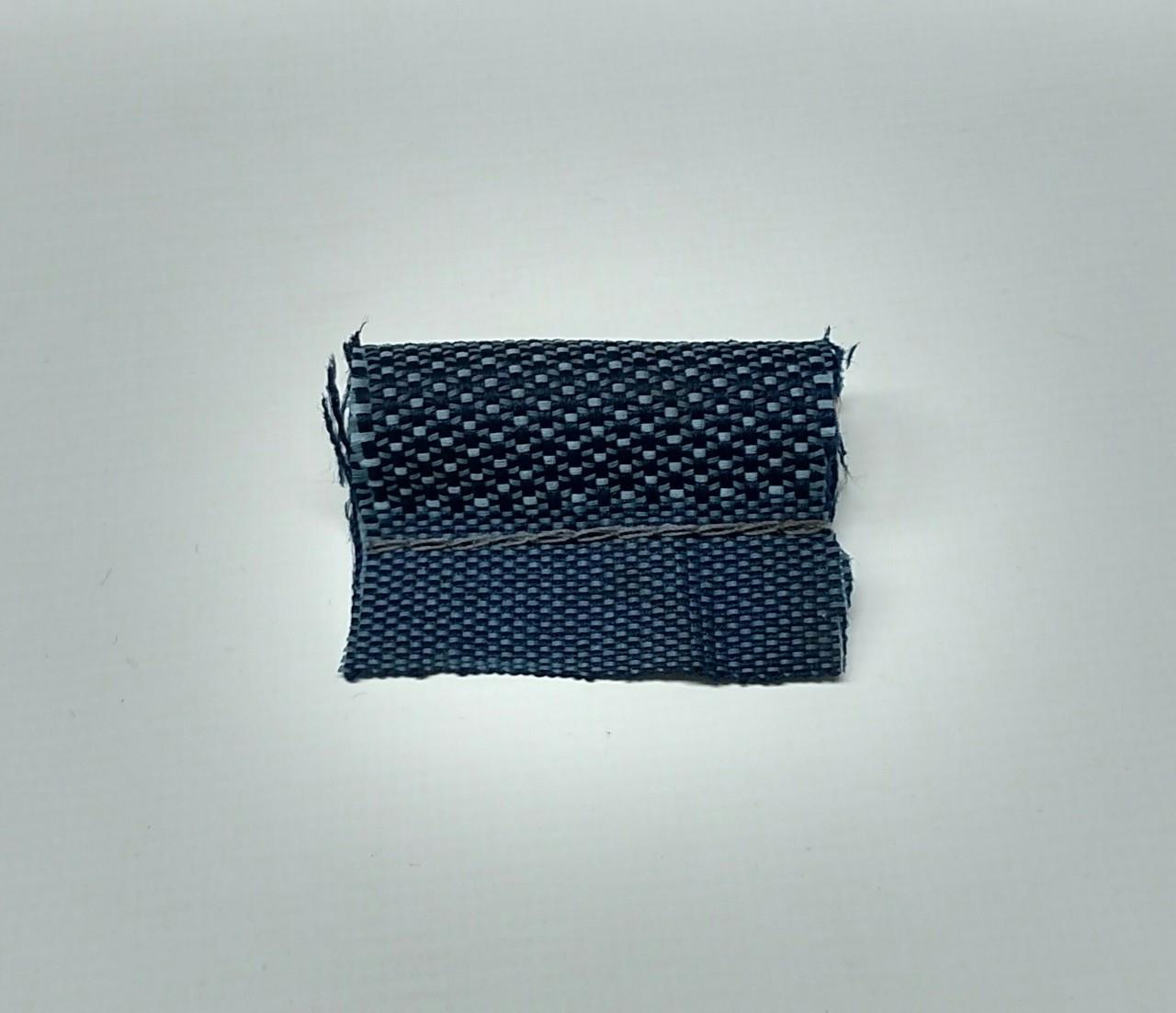 Stitched Cloth Windlace Dark Blue - 4 yards